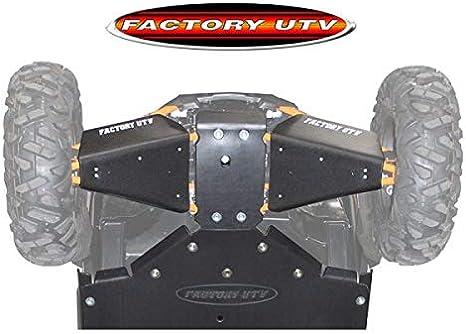 2008 Polaris RZR XP Turbo UHMW High Clearance A-Arm Guards by Factory UTV