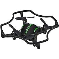 [Quadcopter] Altitude Hold Quadcopter Florld F-19W Wifi FPV 480P Camera RC Drone 3D Flips (Black)