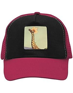 Unisex Flower Giraffe Adjustable Classic Hiphop Hat Baseball Cap Snapback Dad Hat