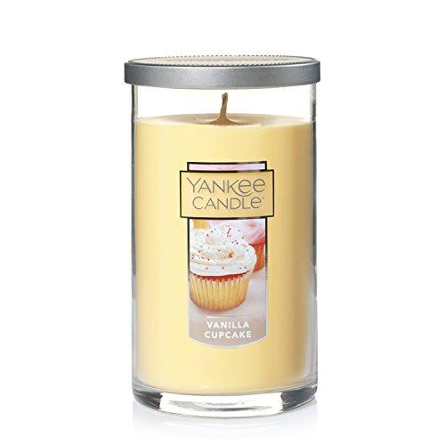Yankee Candle Medium Perfect Pillar Candle , Vanilla Cupcake