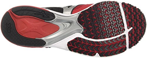 Mizuno Emperor Chaussures Multicolore Rouge de Wave Running Homme Chineseredwhiteblack wqfrw