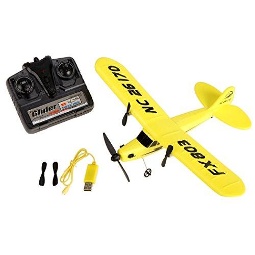 Epp Foam Plane (Asatr Remote Control FX803 Epp Foam 2CH 2.4G Plane Glider Airplane Gift Kid Toys)