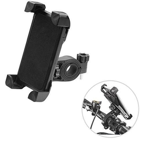 Wholesale Bar Cell Phone - Cell Accessories For Less (TM) Black Bicycle Bike Mount Holder Universal Handle Bar Clip GPS Phone for Samsung Galaxy S8 Active Bundle (Stylus & Micro Cleaning Cloth) - By TheTargetBuys