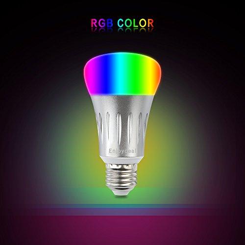 Your Supermart Smart LED Light Bulb 7W E27 Wireless Wifi Remote Control Smart Bulb Lamp