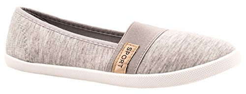 Elara - Zapatillas de casa Mujer gris