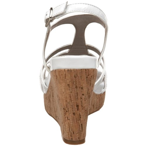 Too Sandal Women's Strap Patent T Me White Jones dwHzAdaq