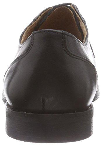 Hombre Zapato Oxford Shdantonio Negro Cuero Shoe Noos Negro de Selected qnZW0BPP