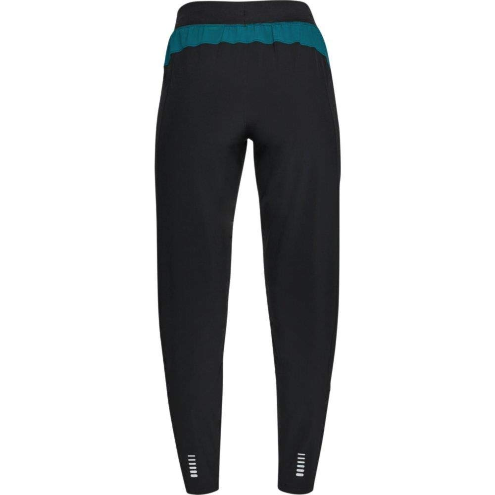 Under Armour Women's OutRun The Storm Pants, Black (002)/Reflective, Medium by Under Armour