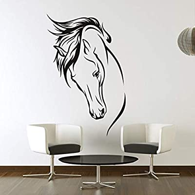 Horse Wall Decals for Living Room, Home Decor, Waterproof Wall