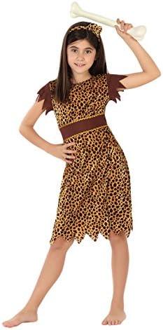 Atosa - Disfraz de cavernícola para niña, talla M, 5-6 años (111 ...