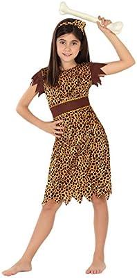 Atosa - Disfraz de cavernícola para niña, talla L, 7-9 años (111 ...