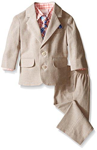 Nautica Baby Boys Linen Texture