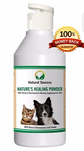 Nature-de-gurison-Poudre-Tous-les-naturel-traitement-anti-puces-pour-animaux-domestiques-Home-Un-vermifuger-Un-traitement-sr-et-sain-Complment-minral-naturel-plus-pure-qualit-mexicain-Codex-deau-douce