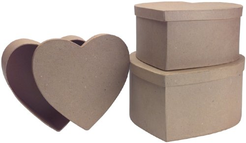 dcc-paper-mache-heart-box-9-1-4-inch-8-1-2-inch7-1-4-inch-set-of-3