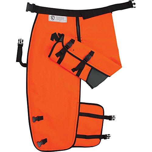 Notch NCW-M Chainsaw Chaps, Orange