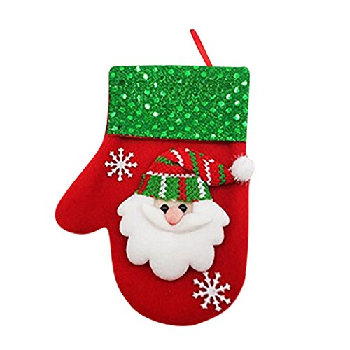 (Outsta Christmas Dinner Cutlery Bag Tableware Bag, Xmas Decor Snowman Kitchen Tableware Holder Pocket Christmas Decoration Hanging Accessories Supplies (B))