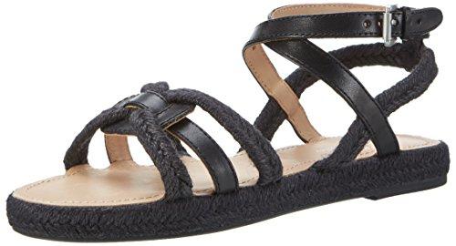 Marc O'Polo 70313881901600 Sandal - Romana Mujer Schwarz (Black)