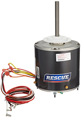 U.S. Motors RESCUE Condenser Fan Motor 1/3 HP to 1/6HP 208-230V 1-Phase 60Hz 825 RPM 2-Speed (Emerson Nidec Protech Rheem #5464) ()