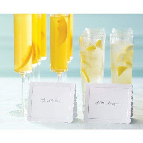Martha Stewart Crafts Place Cards, Large Flourish