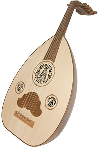 Mid-East Arabic Oud w/ Gig Bag - Walnut by Mid-East