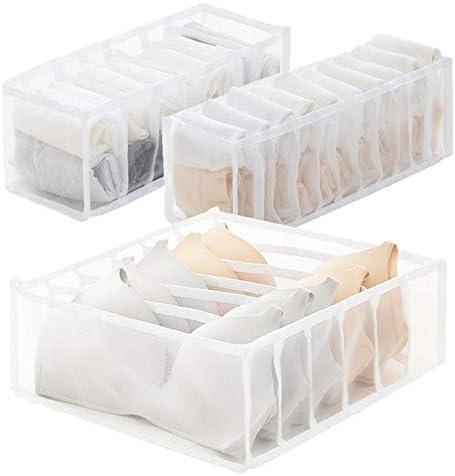 Underwear Socks Tie Bra Storage Organizer Box Compartment Drawer Closet Divider