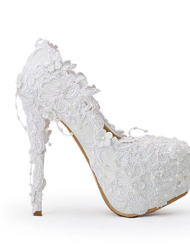Blanco y cn40 over 5 uk6 uk6 Tacones Tacones over 5in 5in eu39 Zapatos de amp; amp; boda 5 5 5 cn40 eu39 5in us8 cn35 5 5 uk3 eu36 Noche GGX Fiesta Boda Vestido us5 amp; us8 over Mujer Cpvq8nUf