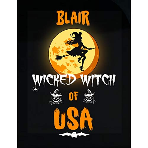 - Inked Creatively Blair Wicked Witch of USA Sticker