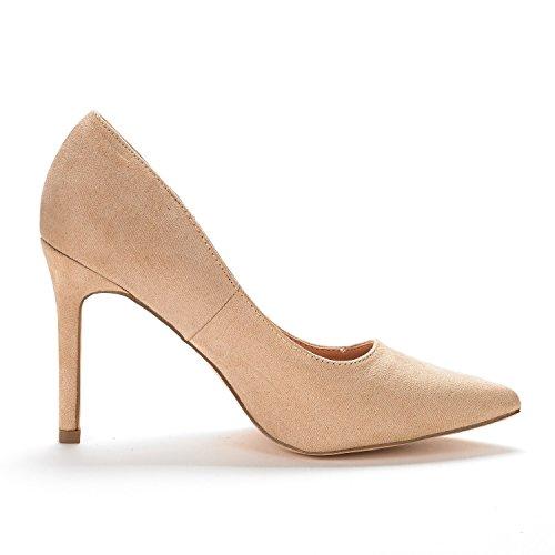 Pump Christian Pairs Shoes Heel Nude Women's Suede Dream vFgwx4qaHn