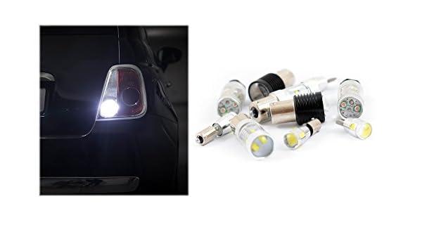 Pack luz de marcha atrás Bombillas LED cree para Seat Ibiza 6 K1: Amazon.es: Coche y moto