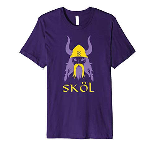 (Skol Nordic Scandinavian Warrior Viking Helmet T-Shirt)