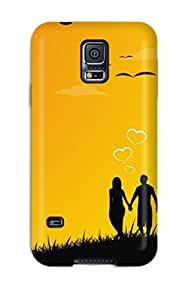Galaxy S5 Case Slim [ultra Fit] Always Together In Love Protective Case Cover