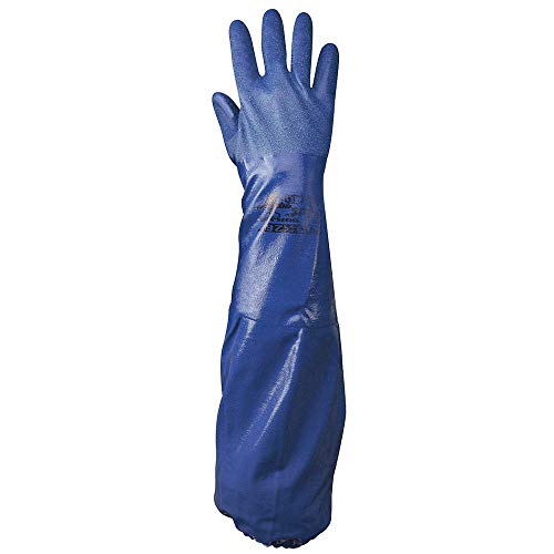 SHOWA Best Glove Size 10 Royal Blue NSK-26 26