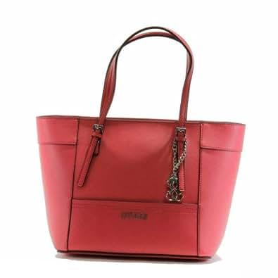Guess Women's Delaney VY453522 Small Classic Tote Handbag (Watermelon)