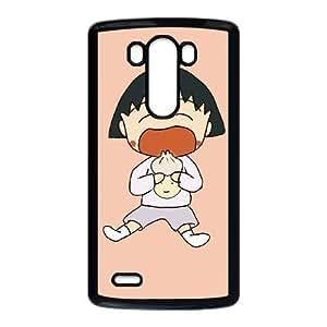 LG G3 Phone Case Black Chibi Maruko-chan NLG7793786