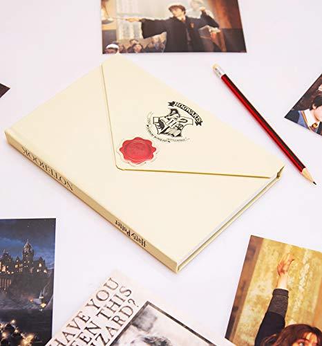 Blue Sky Designs Harry Potter Letter Envelope Notebook