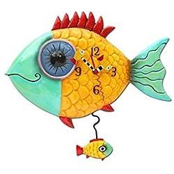 Wide-Eyed Fishy Clock Allen Studio Designs