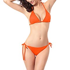 Description Gender: Women Season: Summer Occasion: Daily,Swimming pool ,Sea Material: Polyester Decoration: None Clothing Length: Regular Style: Sexy,Causal Package include: 1PC Swimwear (Containing Chest Pad)