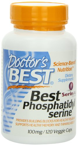 Doctor's Best Best Phosphatidyl Serine 100, 120-Count, Health Care Stuffs