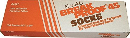 Milking Systems - KEN AG D577 391190 Breakproof Milking System Filtering Sock Tan, 2.25 x 24