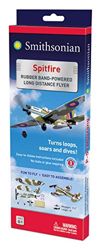 Smithsonian Rubber-Band-Powered Flyers - (Set of 4) by Smithsonian (Image #2)