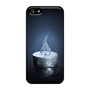 Top Quality Protection Water Candle Case Cover For Iphone 5/5s