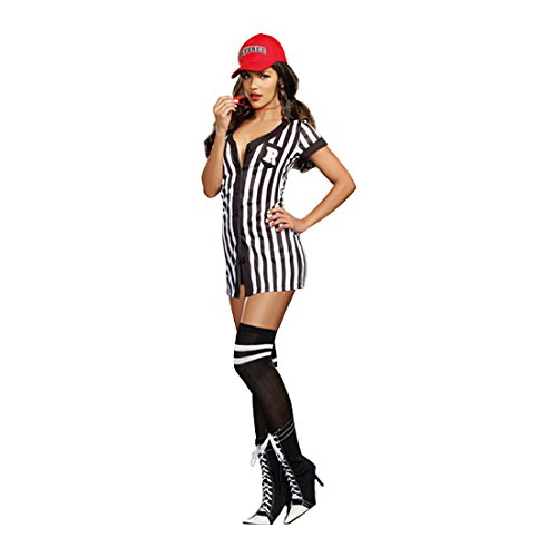 Dreamgirl Women's My Game My Rules Costume, Multi, Small -
