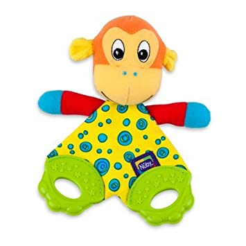 NUBY TEETHING BUDY BLANKET Colours May Vary
