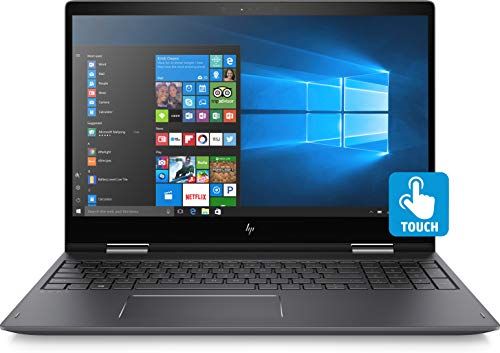 HP Envy x360 15 Convertible Laptop 8th Gen Intel Quad Core i7-8550U, 16GB, 1TB +128GB SSD, 15.6 FHD Touchscreen, GeForce MX150 4GB, Eng Keyb, Win 10, Black