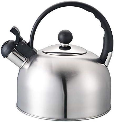 CICIN Whistling Stovetop Kettle para Estufa de Gas 2L de Acero Inoxidable Whistle Tea Kettle Botella de Agua Whistling Kettle para Estufa de Gas