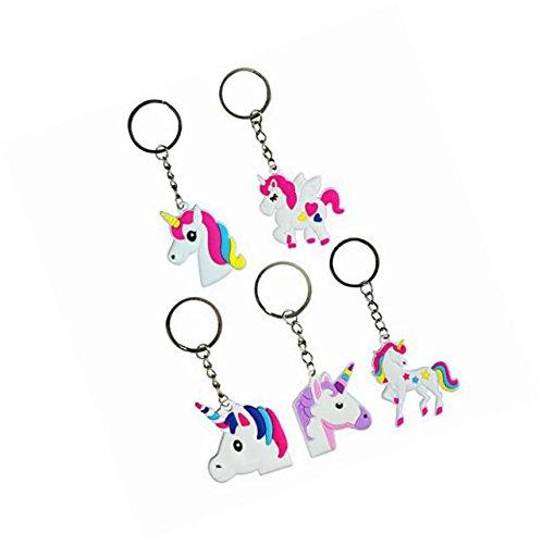 Nikkycozie Emoji Identification party unicorn wristband bracelets, rainbow unicorn birthday favors supplies by Nikkycozie (Image #3)