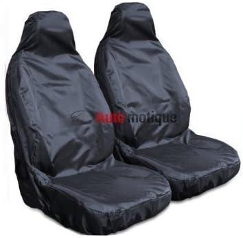 HEAVY DUTY BLACK WATERPROOF SEAT COVERS 1-1 09- FIESTA MK7
