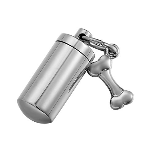 HOUSWEETY Cylinder Cremation Stainless Non engraving