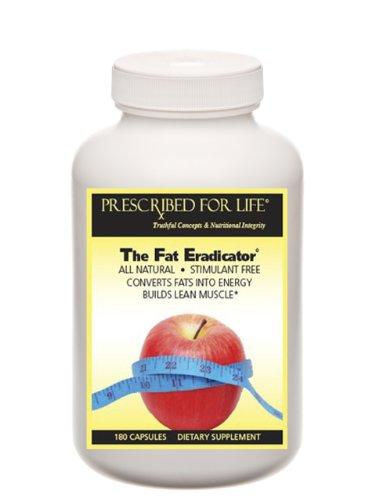 EradicatorTM Fat - 24 métabolisant gras naturels puissants nutriments - Stimulant libre, 120 Capsules