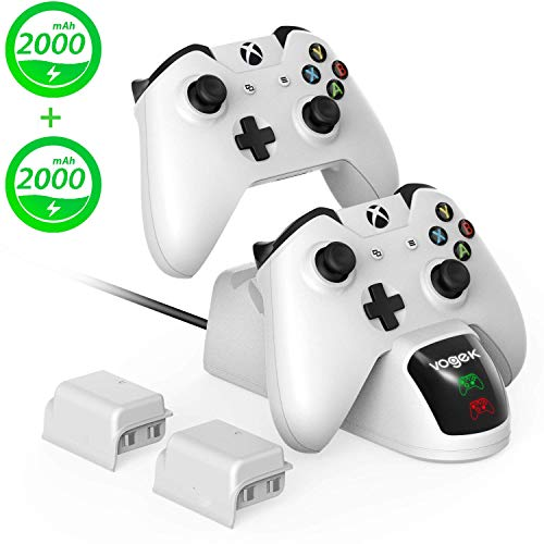 Xbox One Controller Charger, Vogek 2